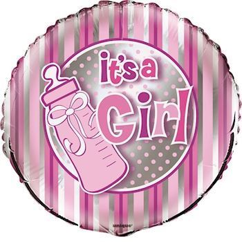 It´s a Girl. Folie ballon