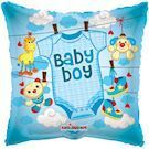Baby Boy folieballon square