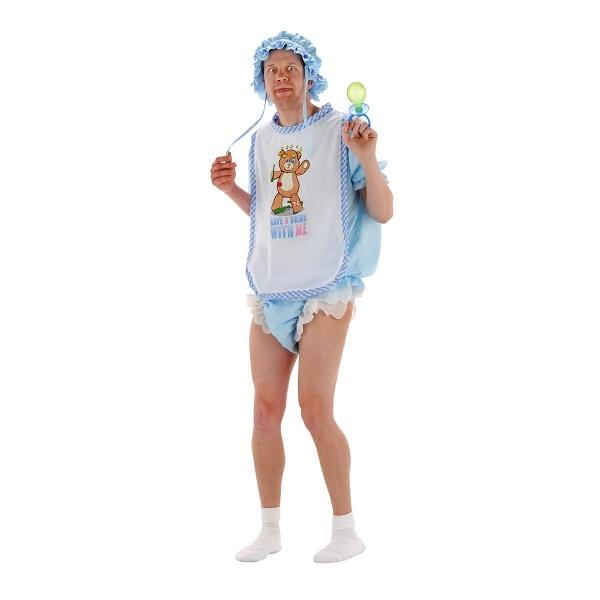 Drenge Baby Kostume | Bliv klædt ud som en voksen baby | Udklædning