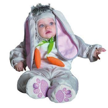 Lille baby kanin udklædning | Fastelavns udklædninger til baby