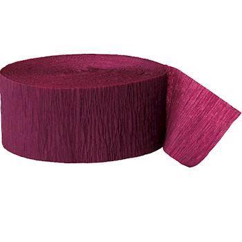 crepe b nd vin r d crepeb nd vin r d flot festpynt. Black Bedroom Furniture Sets. Home Design Ideas