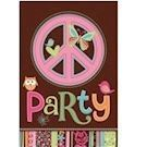 Hippie invitation