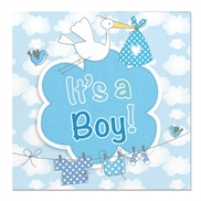 It's a boy servietter
