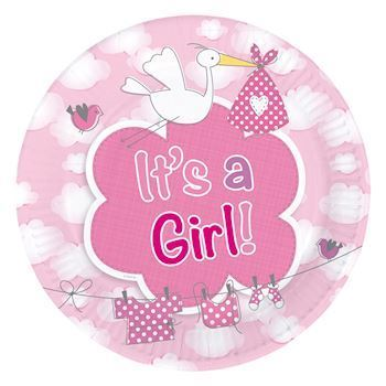 It\'s a girl tallerkner