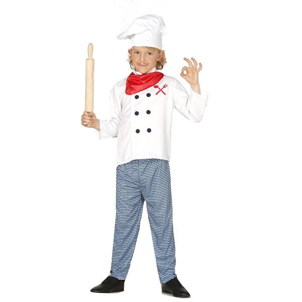 086c04087e0 Kokke udklædning til børn   Masterchef kostume til Fastelavn