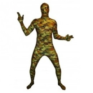 Morphsuits camouflage