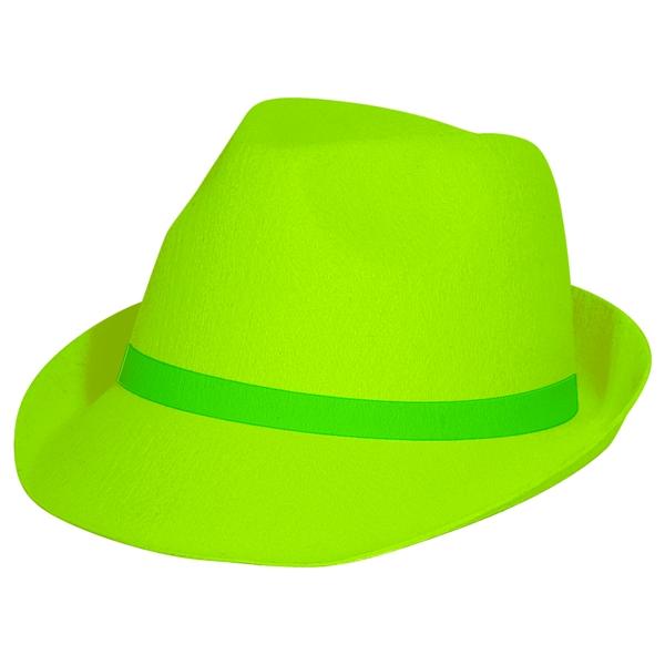 Neon grøn hat