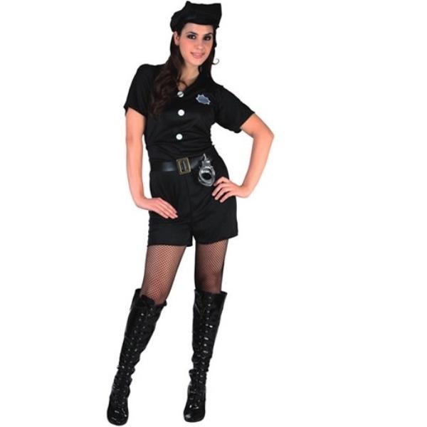 Politi kostume sidste skoledag