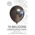 Blank Space Gray Chrome Ballon