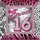 Sweet Sixteen Servietter