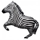 Zebra folieballon
